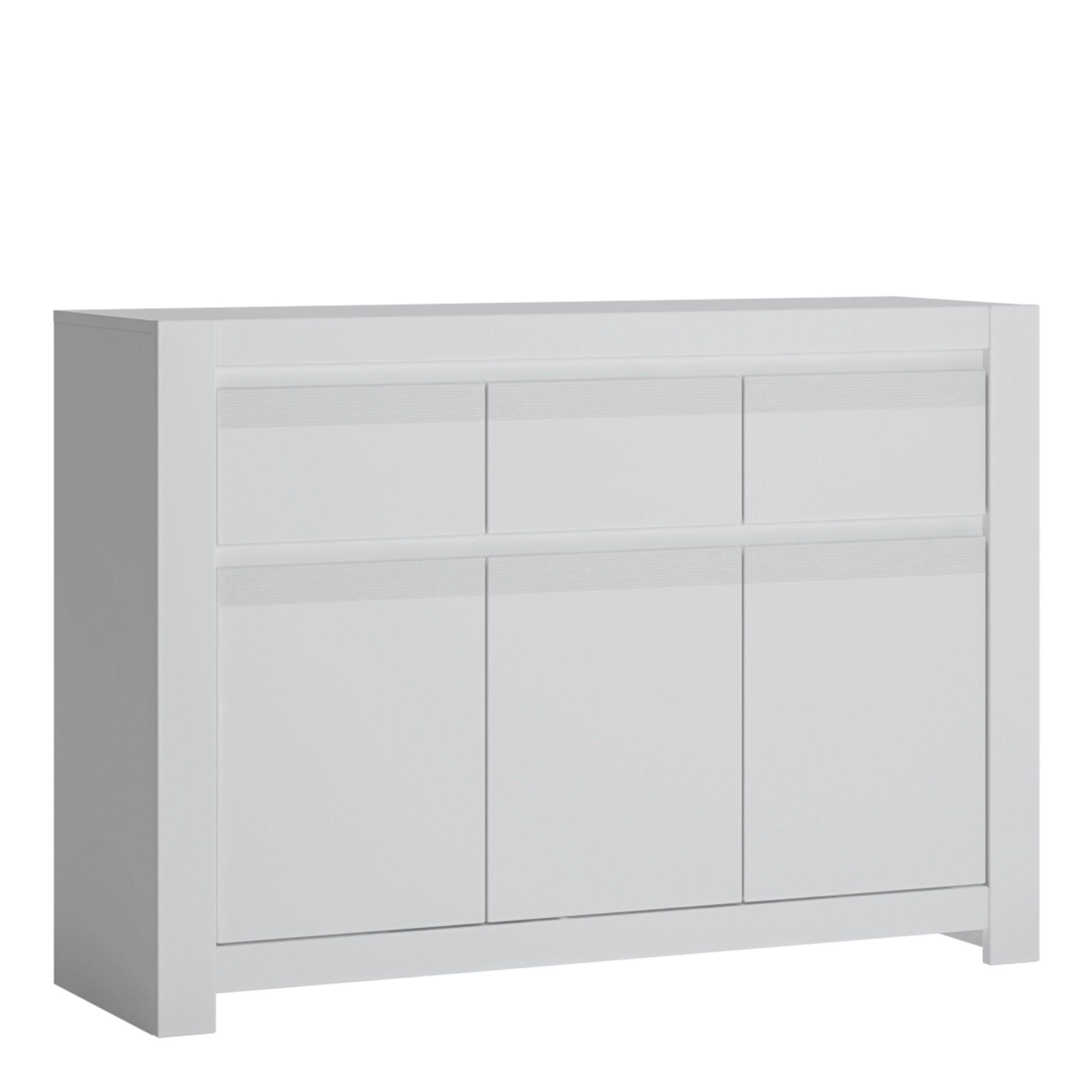 Veen 3 Door 3 Drawer Cabinet