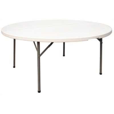Halle Round Folding Table - 5 Ft Fully Assembled