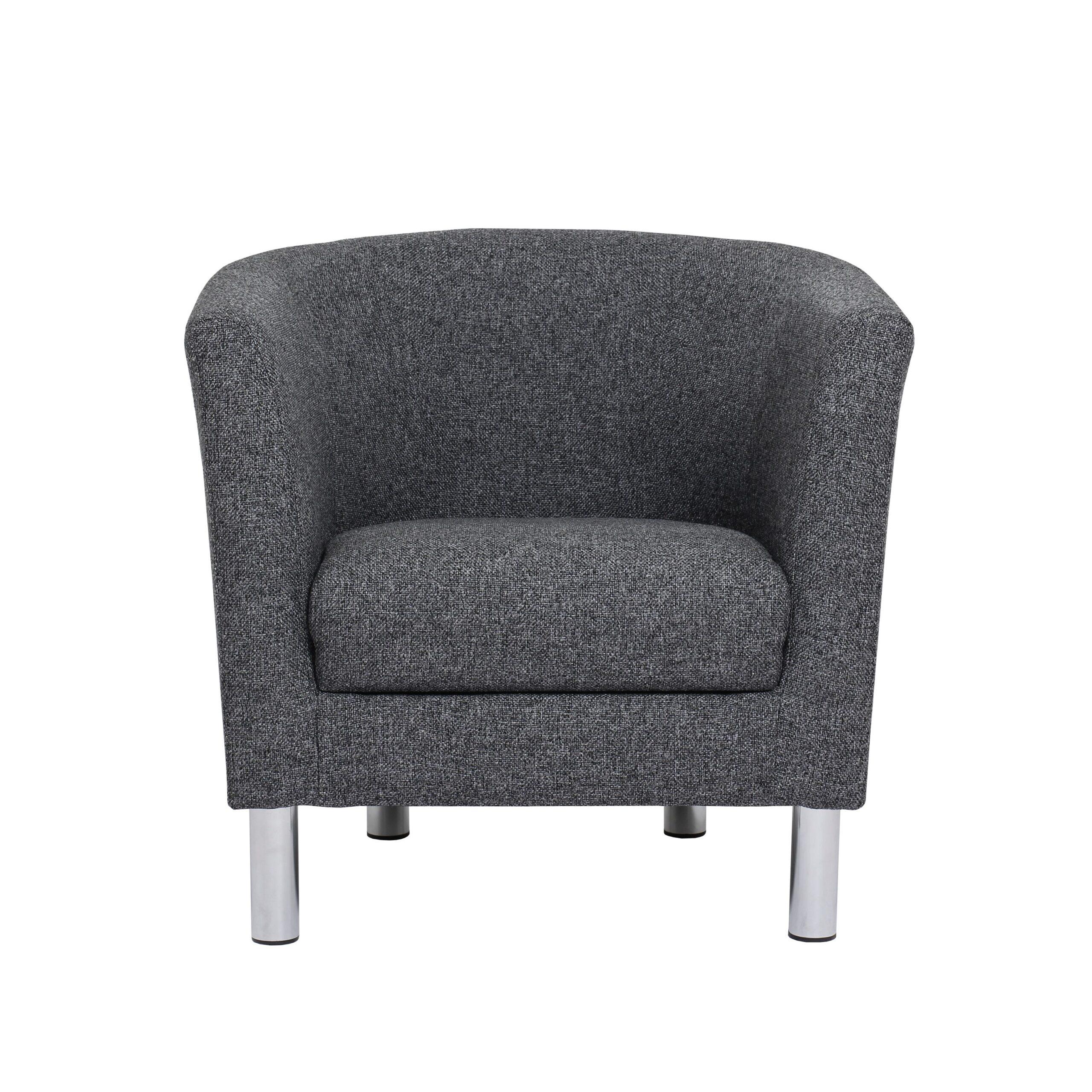 Mex Black Armchair
