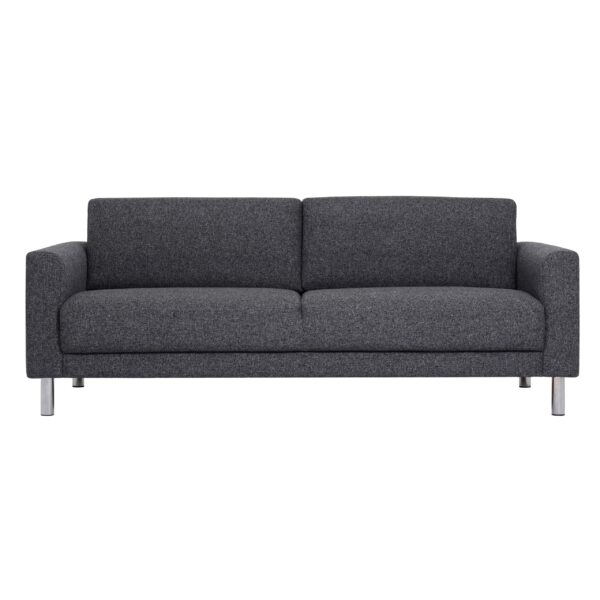 Mex Black 3 Seater Sofa