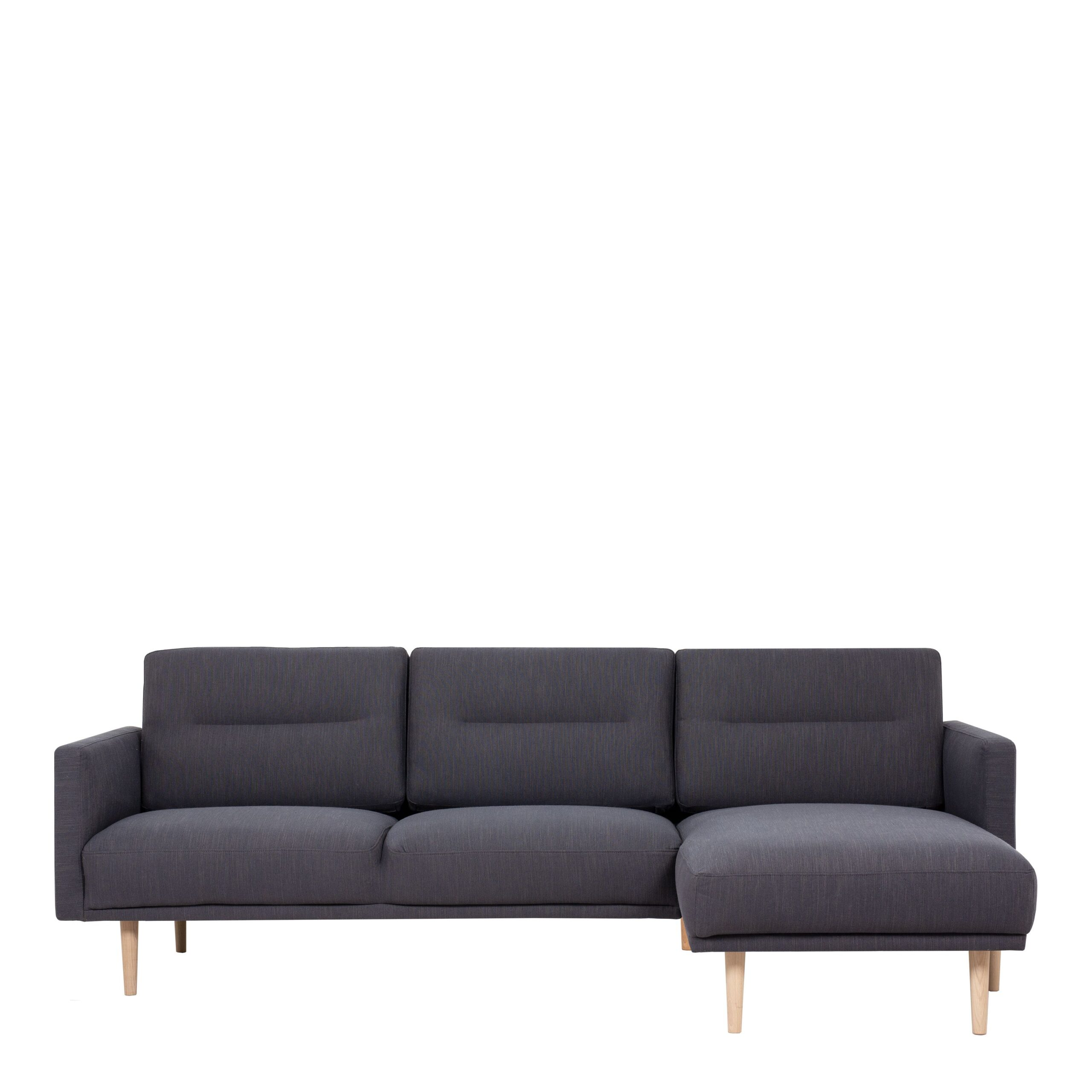 Vickie Chaiselongue Sofa (RH) - Antracit