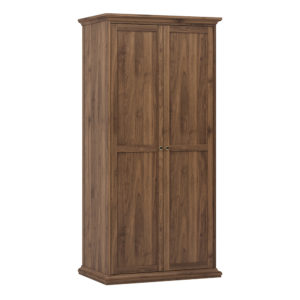 Wardrobe with 2 Doors in Walnut