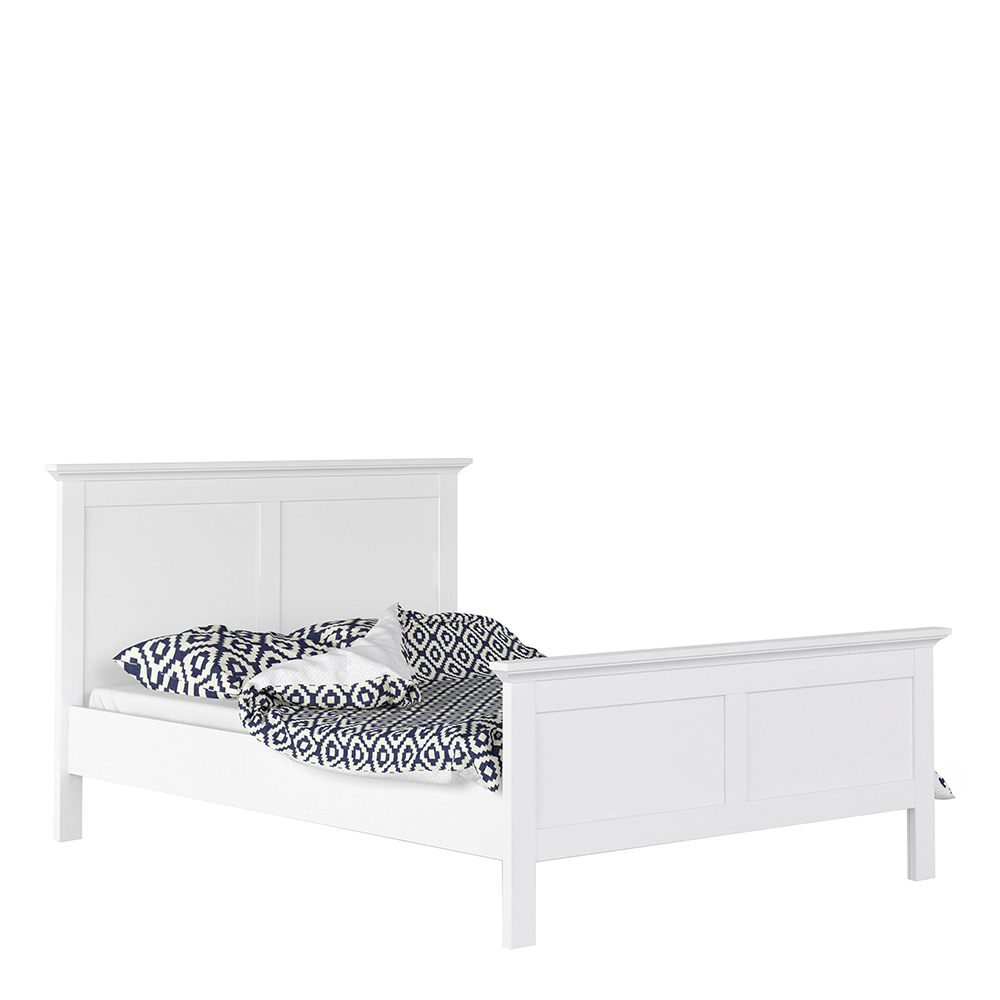 Double Bed (140 x 200) in White