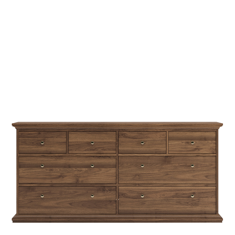 Chest of 8 Drawers in Walnut