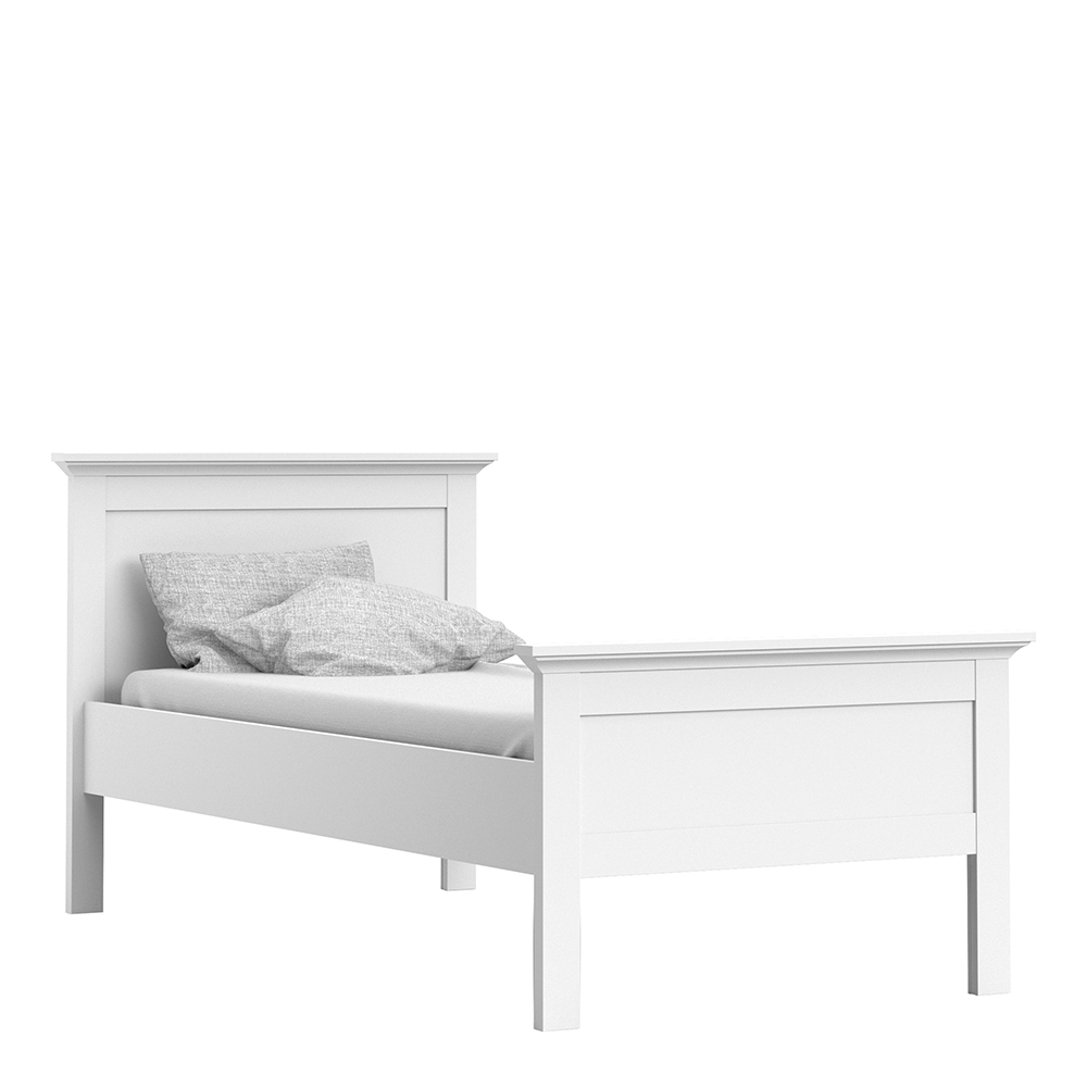 Single Bed (90 x 200) in White