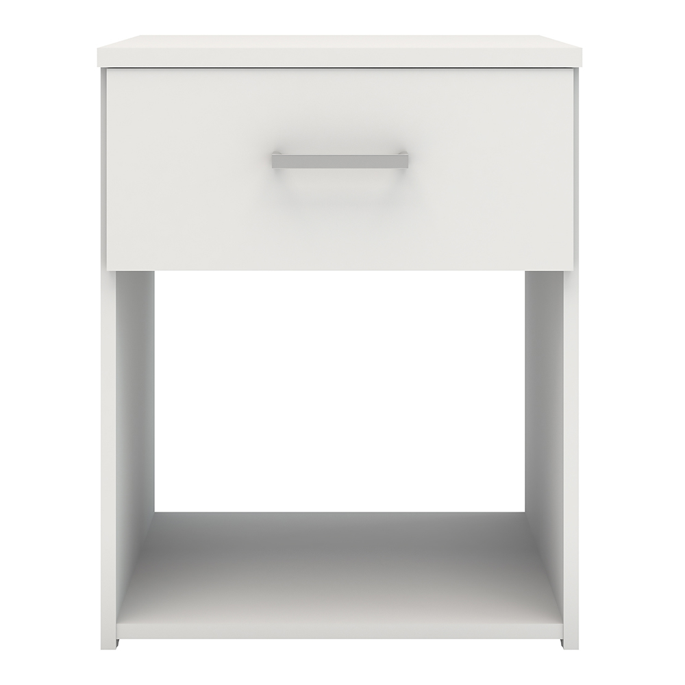 Pacon Bedside 1 Drawer in White