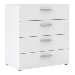 Peepo Chest of 4 Drawers in White