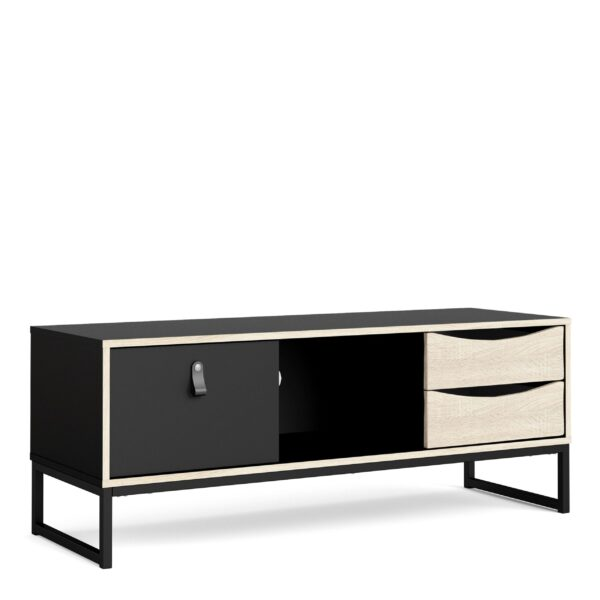Wendy TV Units 1+2 drawers and open shelf