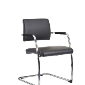 Bruk Faux Leather Cantilever Stylish Office Chair