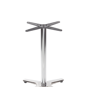 Aluminium all weather table base - 4 leg - Dining Height - 730 mm