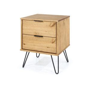 June 2 drawer bedside cabinet