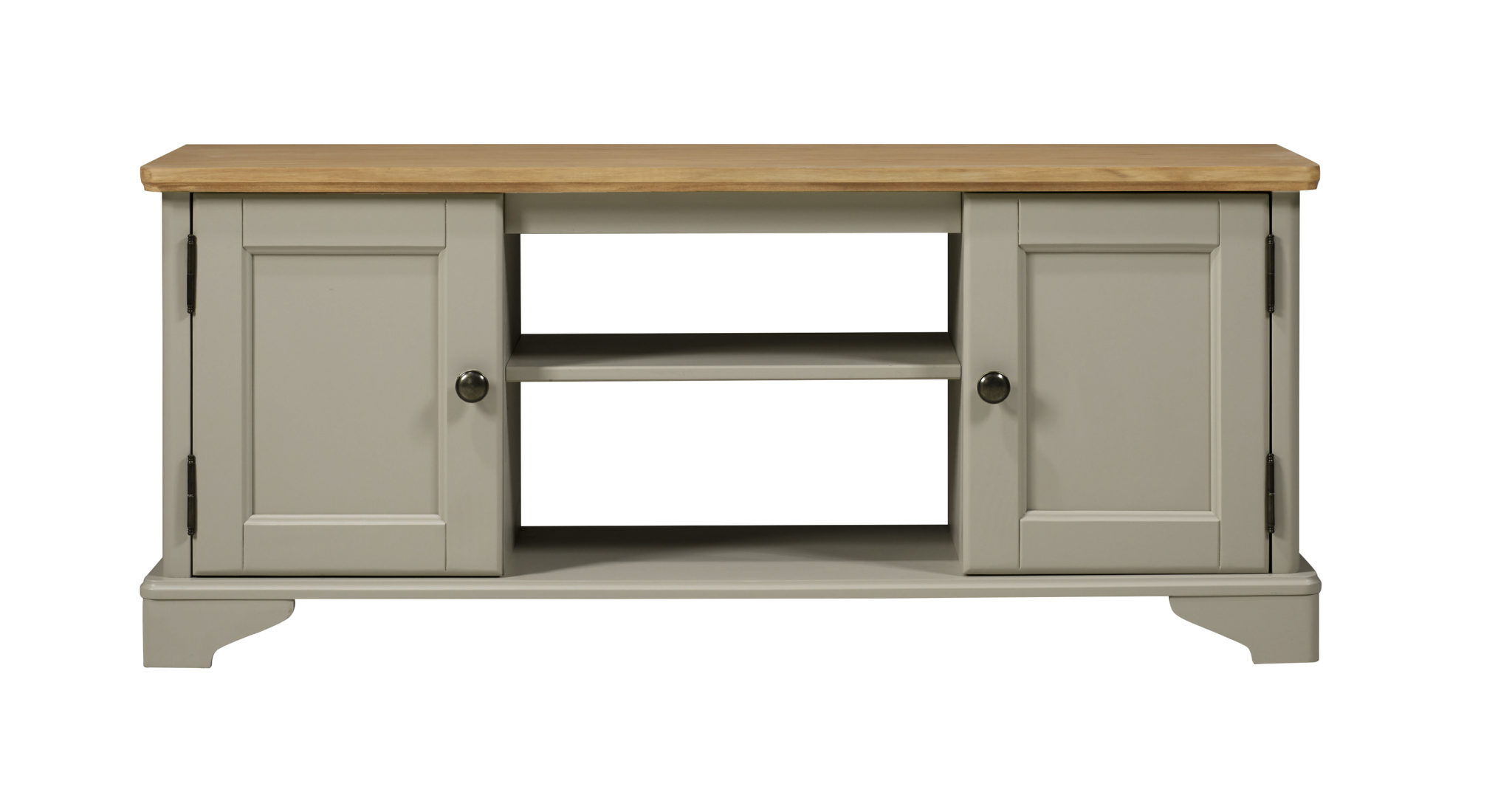 flat screen TV unit with 2 doors