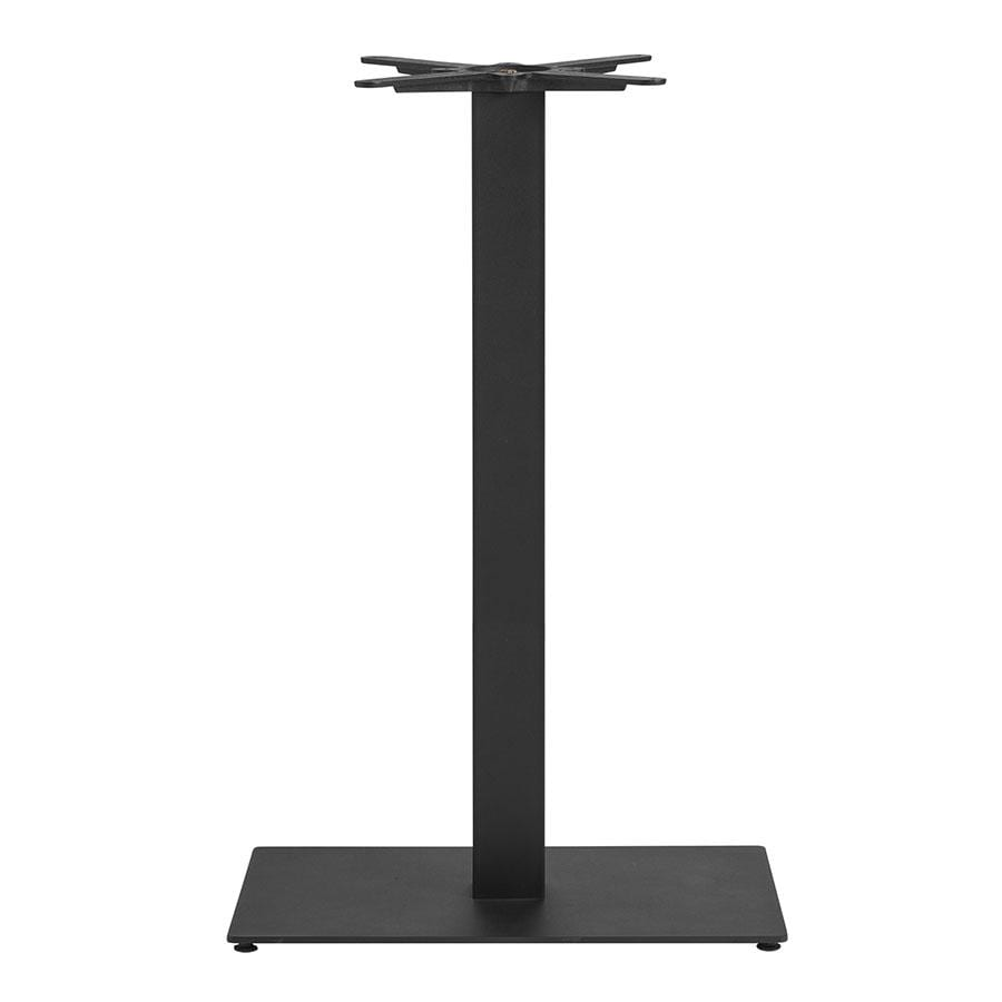 Bromley Sleek Base - Black Small Rect - Mid Height