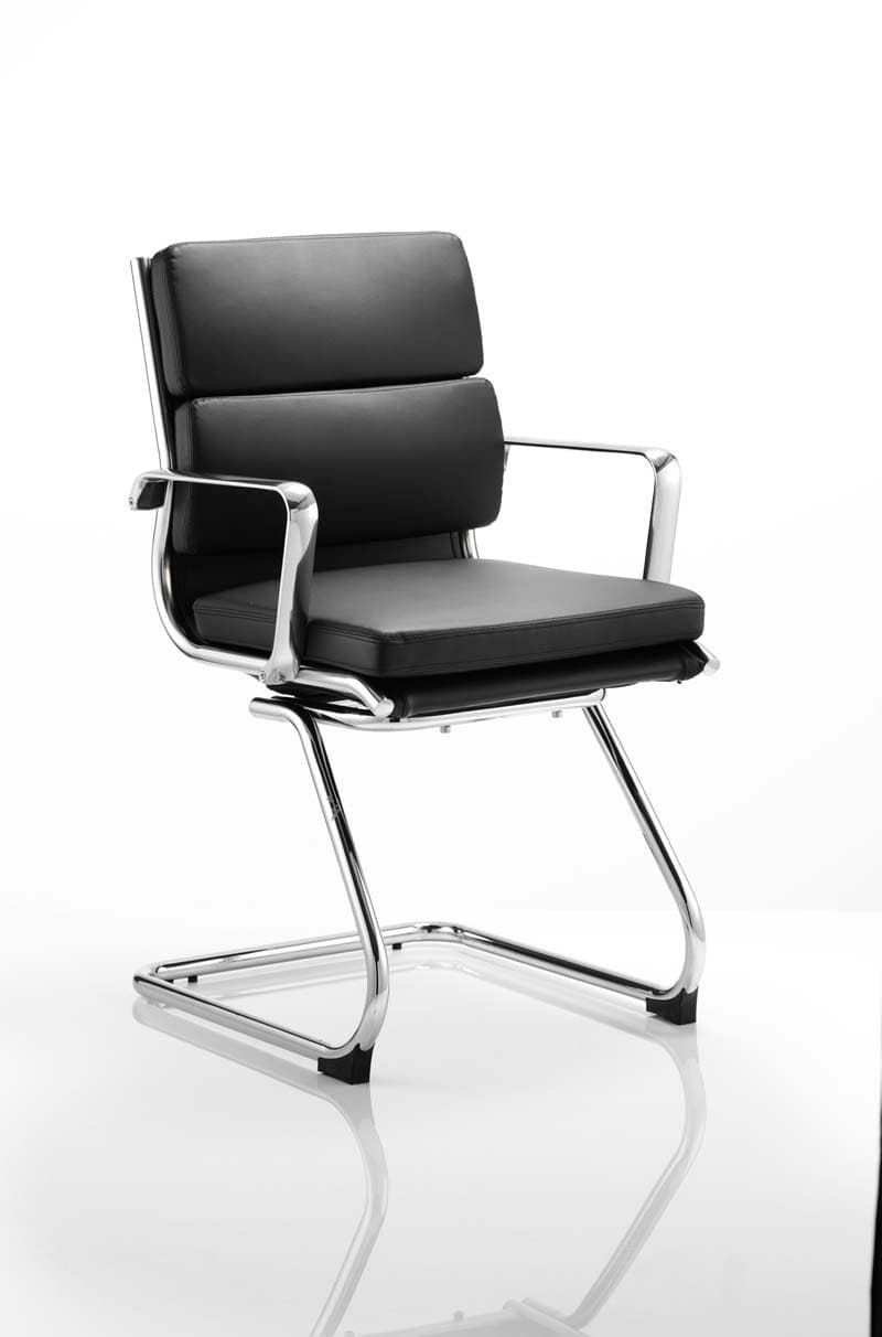 Sava Soft Bonded Leather Cantilever Office Chair