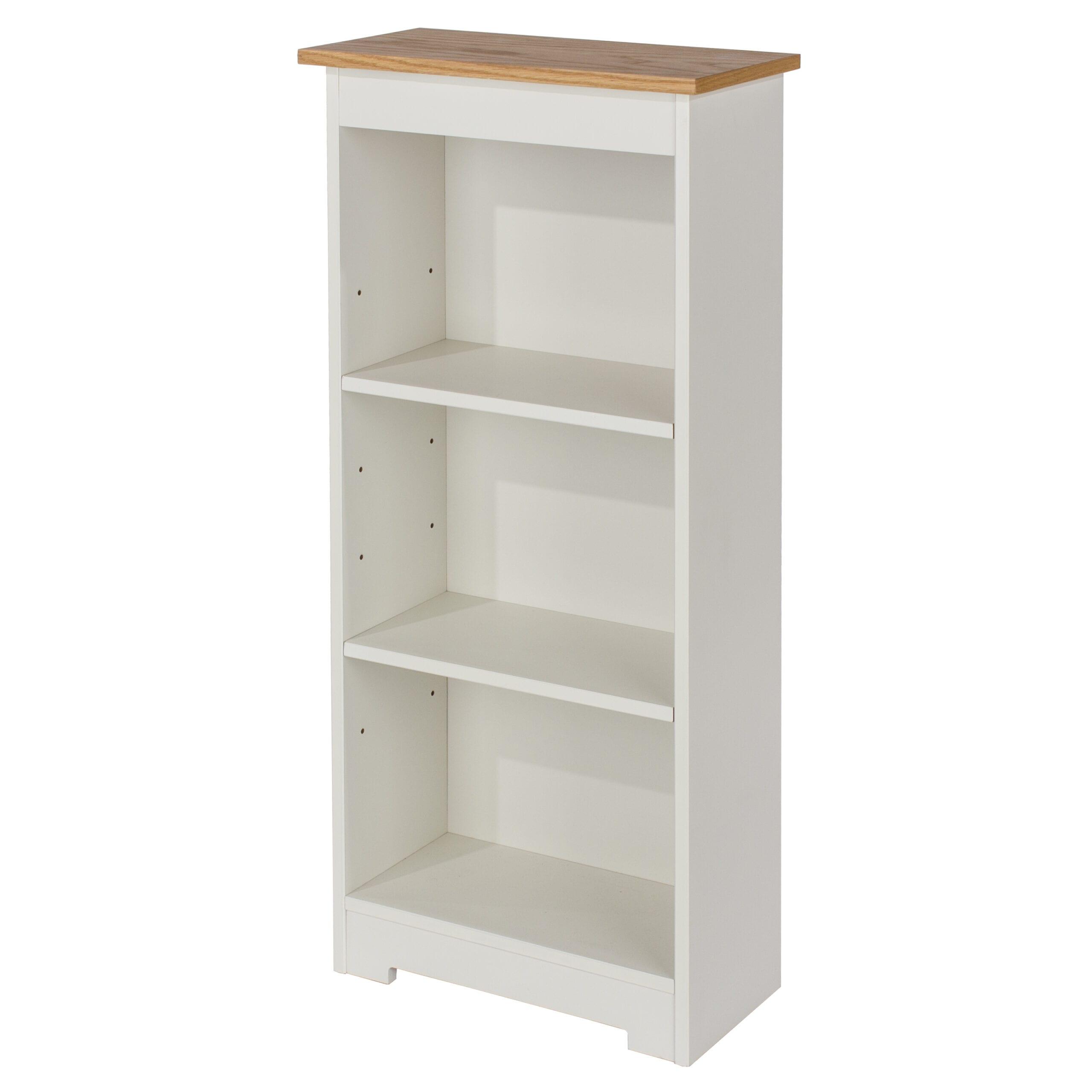 Colonade low narrow bookcase