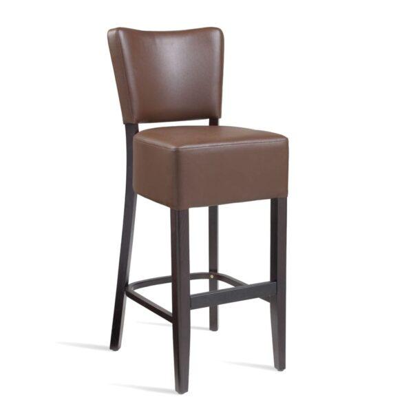 Bugel Bar Stool - Wenge - Brown