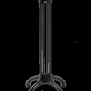Black Continental Style Table Base - 4 leg - Poseur - 1060 mm
