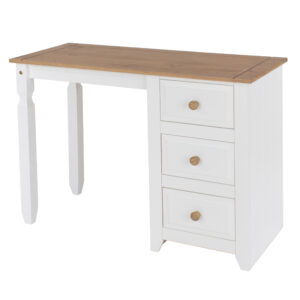 Steak single pedestal dressing table