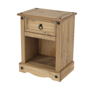 Cortan 1 drawer bedside cabinet