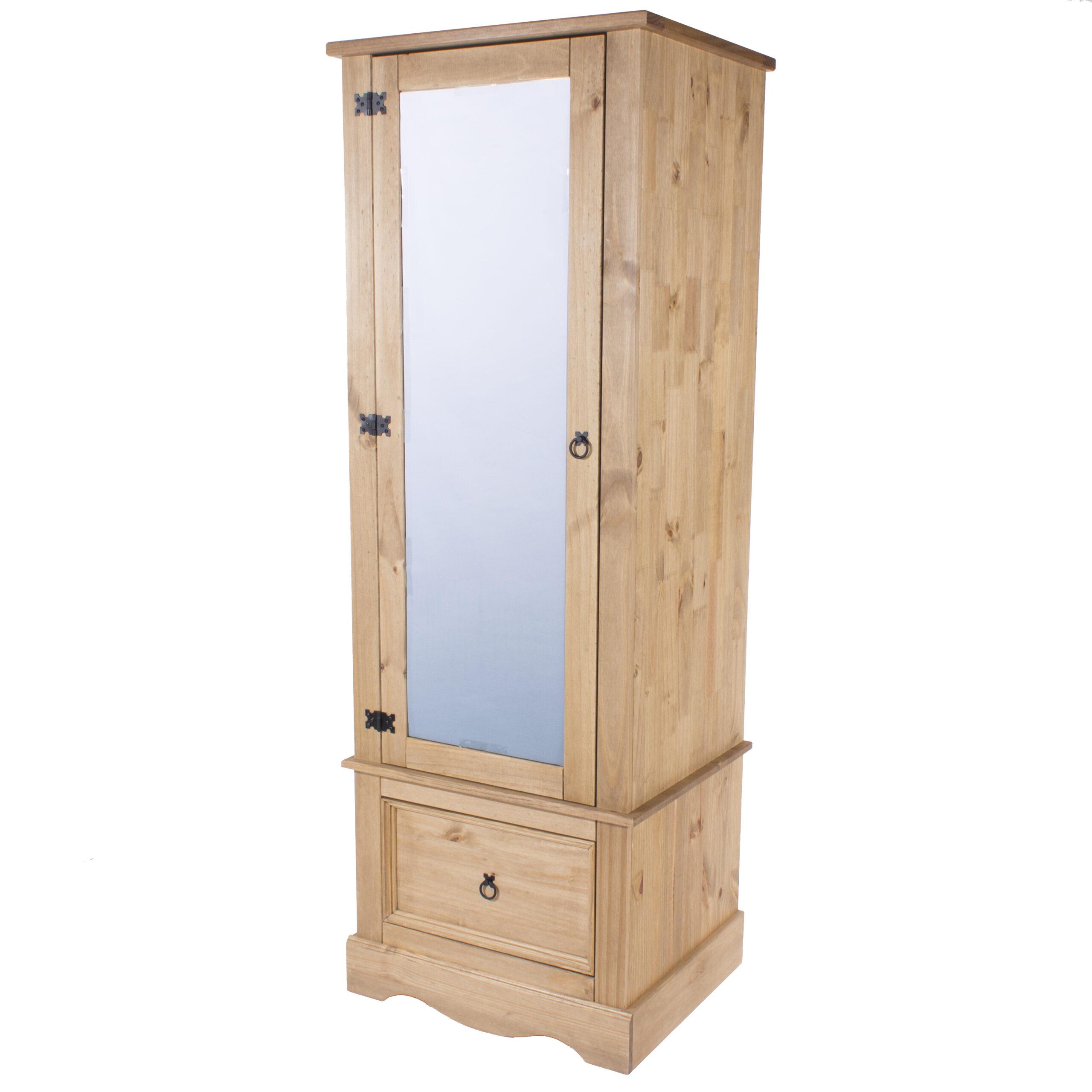 Cortan armoire with mirrored door
