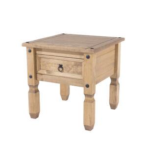 Cortan lamp table