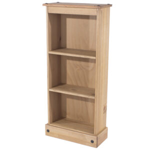 Cortan low narrow bookcase