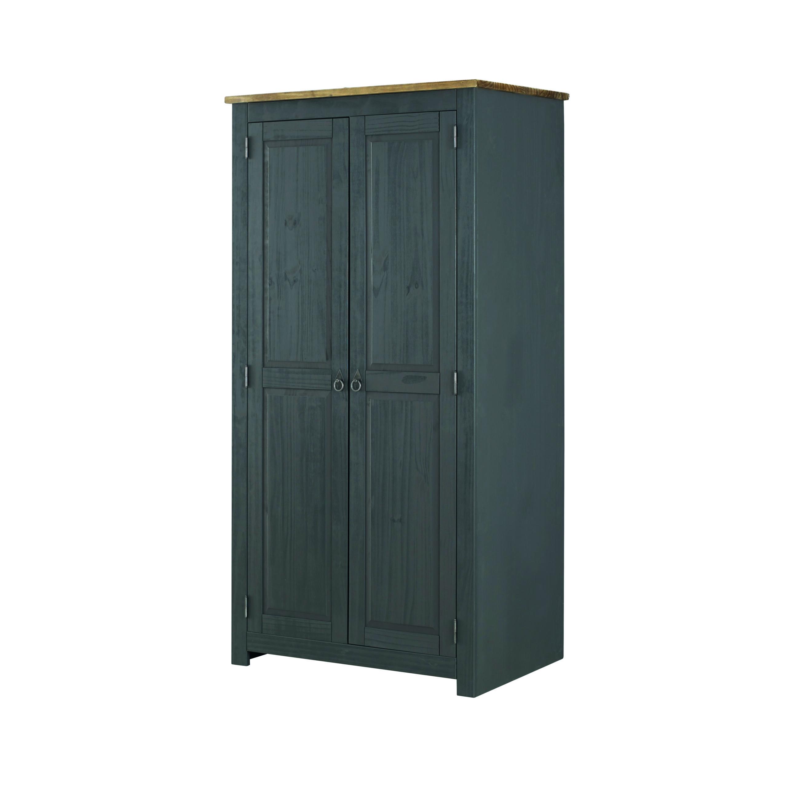 Caladonea Carbon 2 door wardrobe