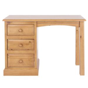 Baxton single pedestal dressing table