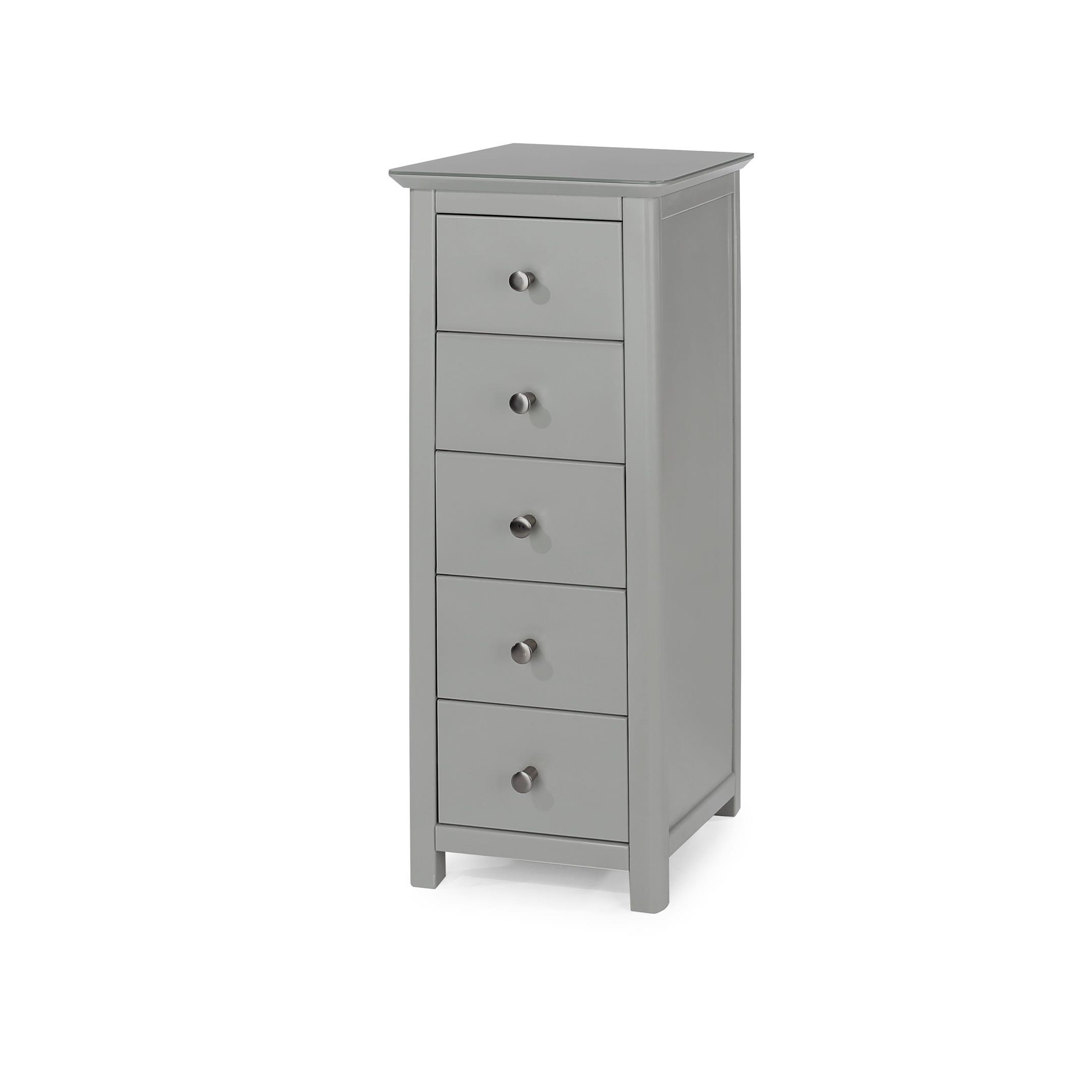 Epsom 5 drawer narrow chest