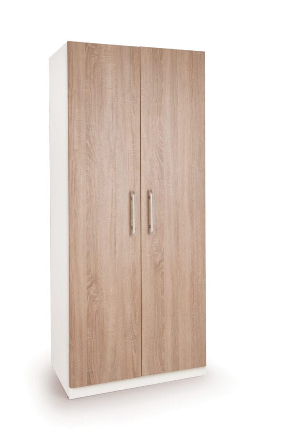 Eitan Quality Bedroom Double Wardrobe - Variety Of Colours
