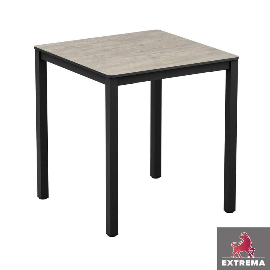 "Erman Cement ""Textured"" - Full Table - 79x79 - Dining"