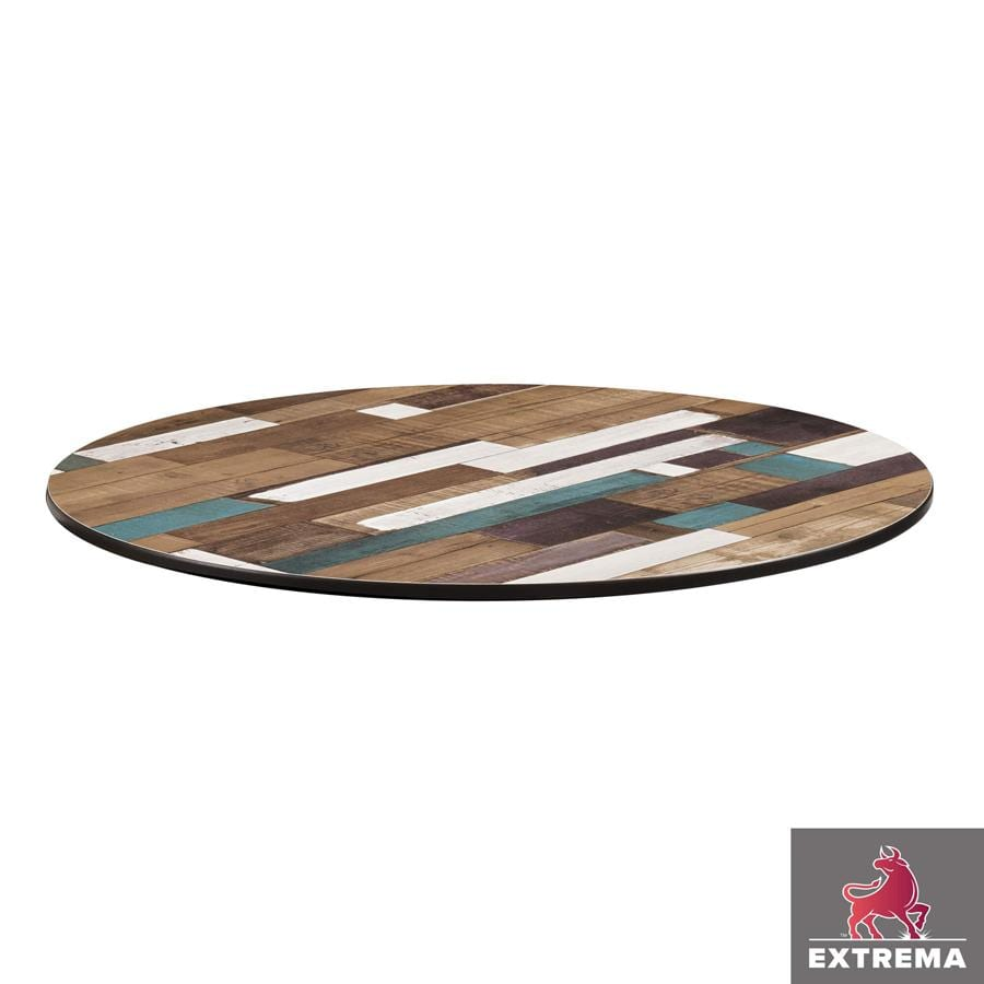 Erman Table Top - Driftwood - 69cm Dia