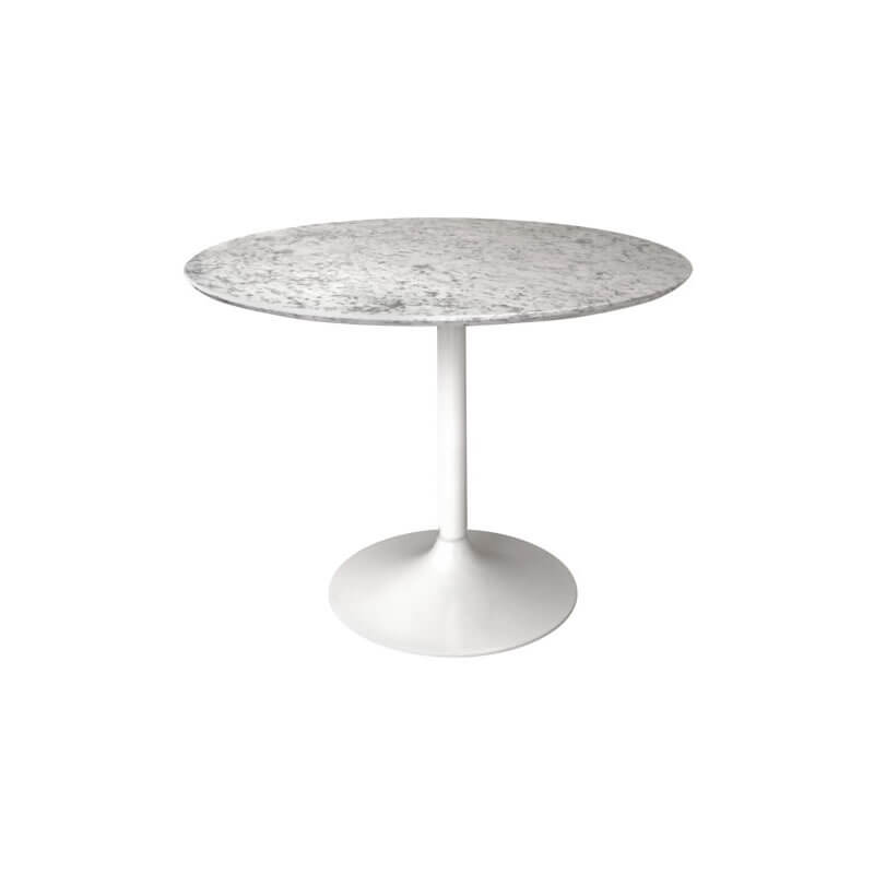 Gensifer Round Kitchen Table with Retro Base With Range of Granite