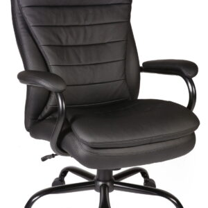 Galio Heavy Duty Computer Office Chair - Leather Faced