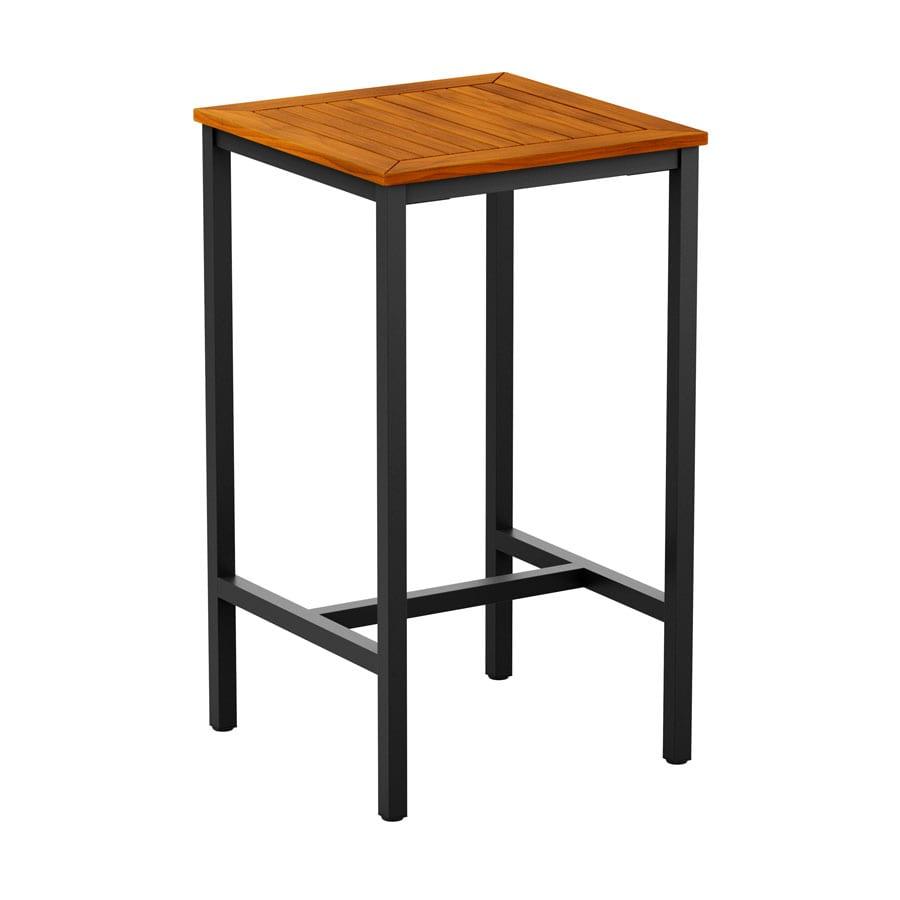 Inck - 4 Leg Poseur Table - Black - 70x70cm