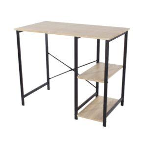Lust study desk with side storage