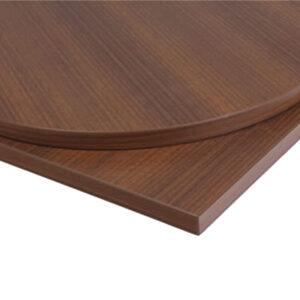 Taybon Solid Wood Rectangular Table Top - Walnut