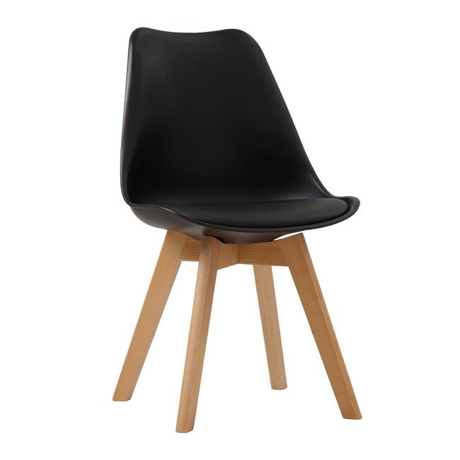 Lovet Chair Black (Pack of 2)