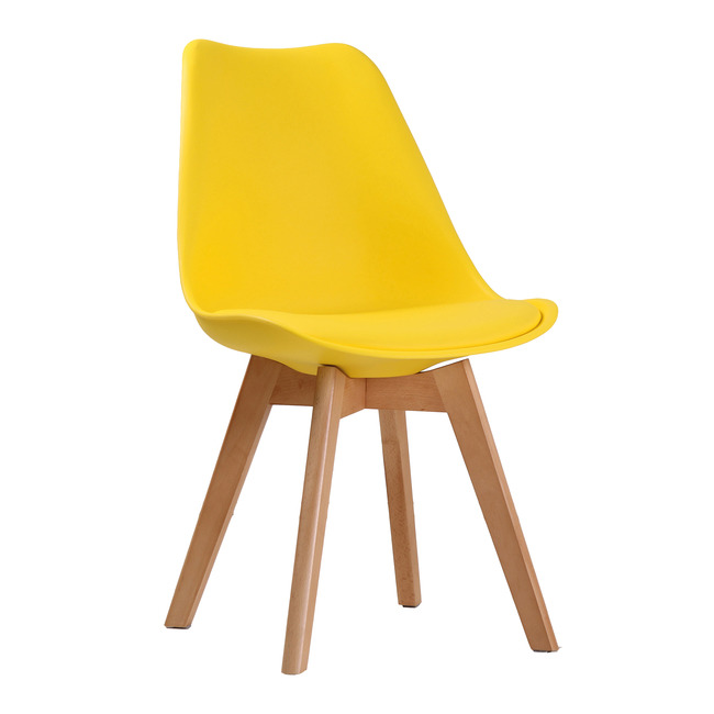 Lovet Chair Yellow (Pack of 2)