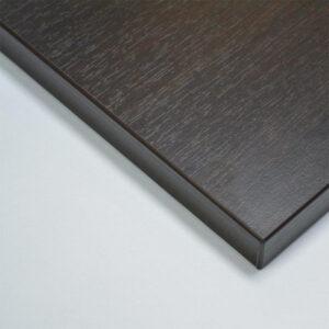 Taybon Melamine Rectangular Table Top - Wenge