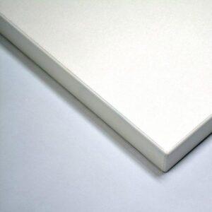 Taybon Melamine Rectangular Table Top - White