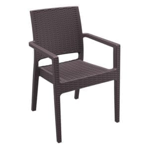 Minty Arm Chair - Brown