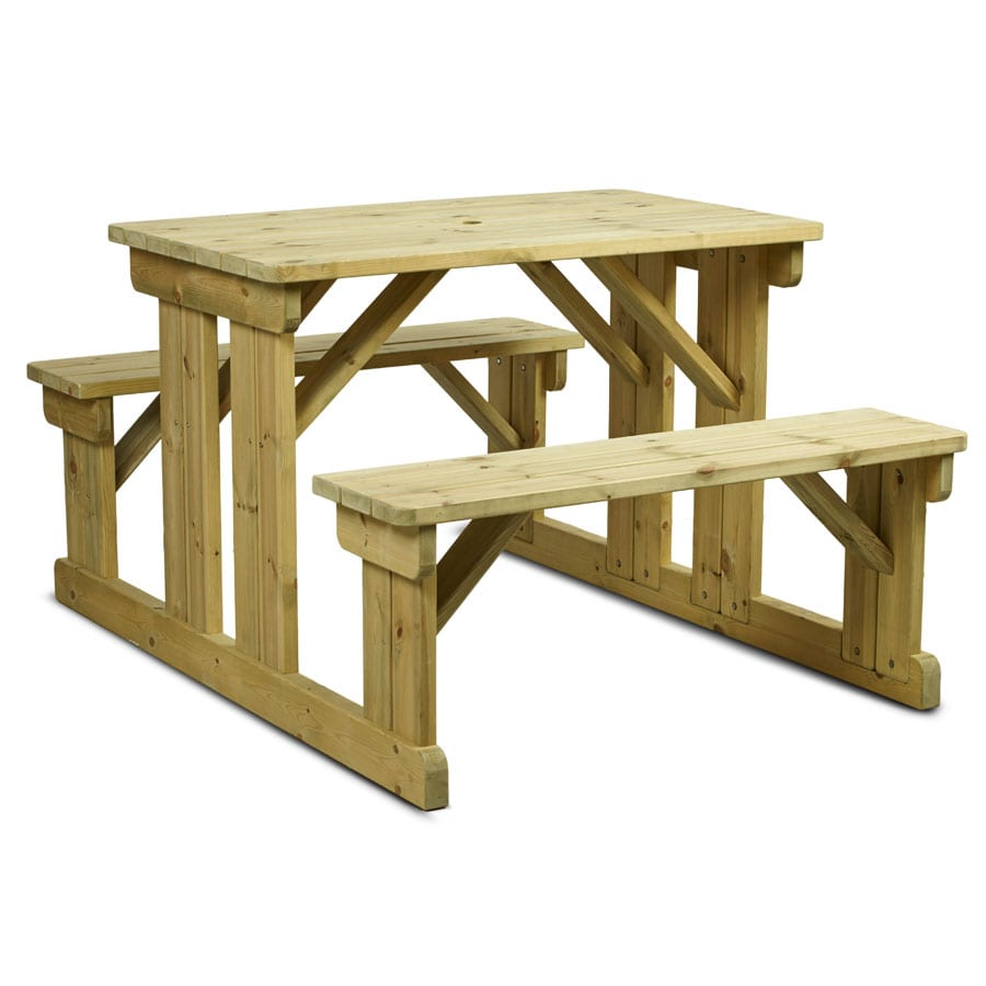 Newman Walk In Bench - 8 Seater