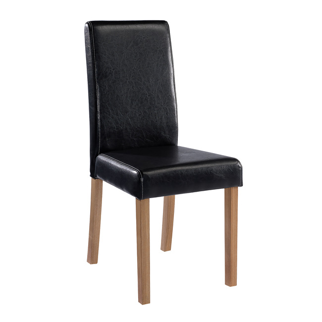 Orly Chair Black (Pack of 2)