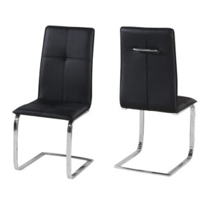 Supor Chair Black (Pack of 2)