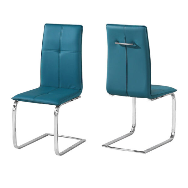 Supor Chair Teal (Pack of 2)
