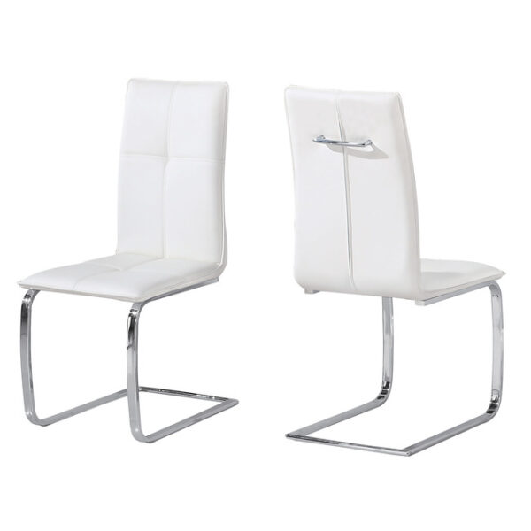 Supor Chair White (Pack of 2)