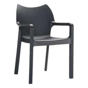 Beak Arm Chair - Black
