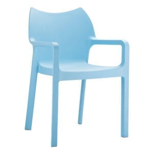 Beak Arm Chair - Light Blue
