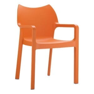 Beak Arm Chair - Orange